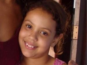 Gabrielly Caroline, menina desaparecida em Uruana, Goiás (Foto: Arquivo pessoal)