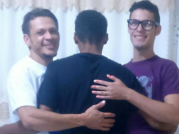 Adolescente foi adotado após seis anos de espera, em Gurupi (Foto: Arquivo Pessoal)
