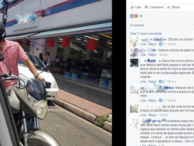 Empresária de Piracicaba denuncia assédio sexual sofrido no trânsito (Foto: Reprodução/Facebook)