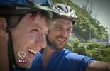 Igor Rickli pedala em nova ciclovia do Rio de Janeiro