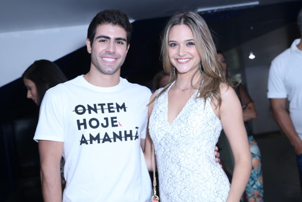 Juliano Lahan e Juliana Paiva (Foto: Anderson Borde / AgNews)