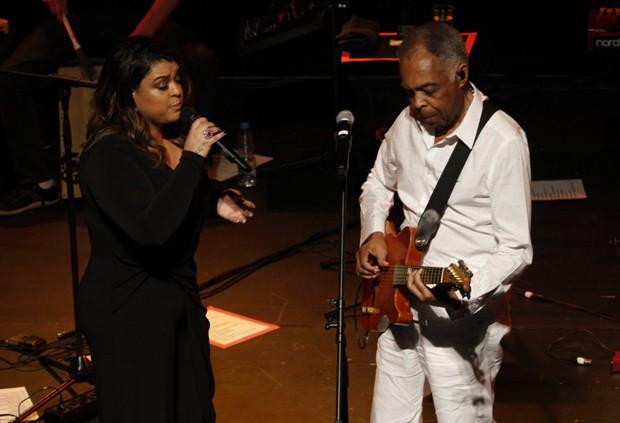 Preta Gil e Gilberto Gil (Foto: Marcos Ferreira/Brazil News)