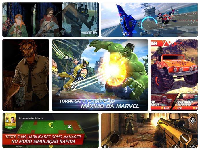 Conheça os melhores jogos para Android lançados neste ano de 2014 (Foto: Montagem)