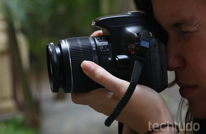 Canon t3 (3) (Foto: Lucas Mendes/TechTudo)