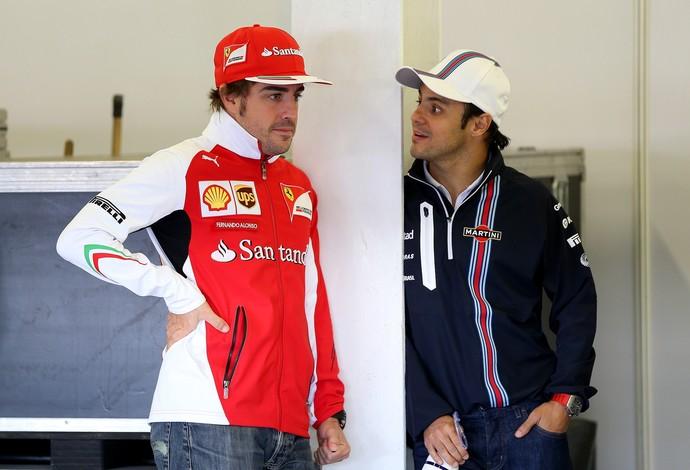 Na Williams, Felipe Massa conseguiu sair da sombra do ex-companheiro Fernando Alonso (Foto: Getty Images)