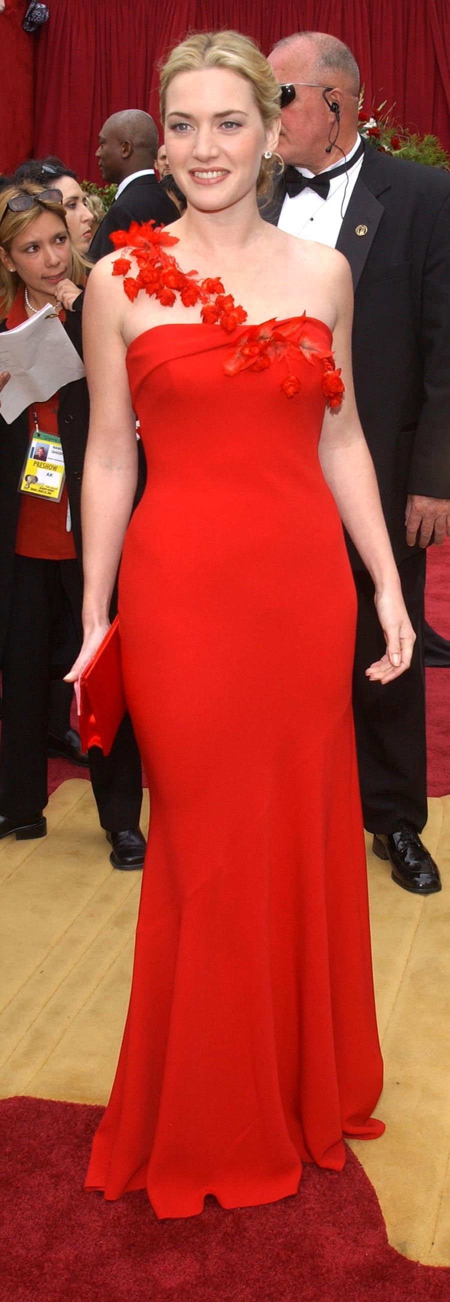 Kate Winslet - Ben de Lisi - 2002 (Foto: Getty Images)
