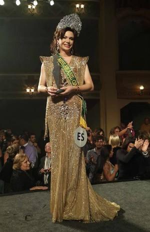 Sheila Veríssimo foi eleita Miss Brasil Gay 2013 (Foto: Sérgio Herzog)