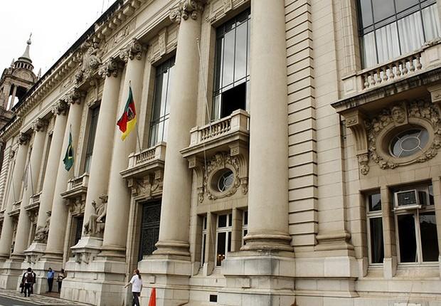Palácio Piratini, sede do governo do Rio Grande do Sul (Foto: Rafael Cabeleira/Divulgação)