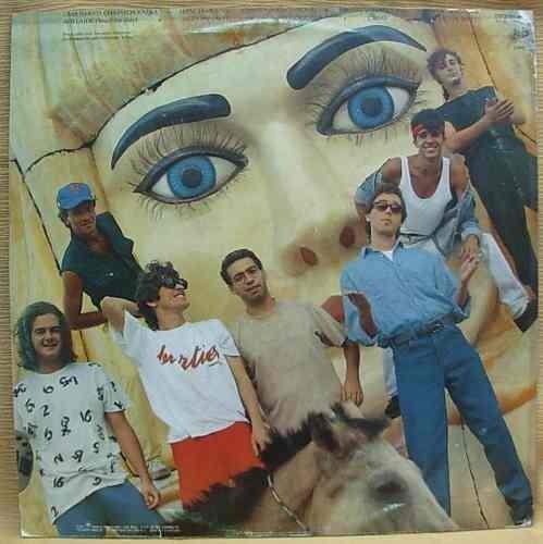 A capa do LP de maior sucesso do Inimigos do Rei, fenômeno musical que completa 30 anos (Foto: Reprodução)