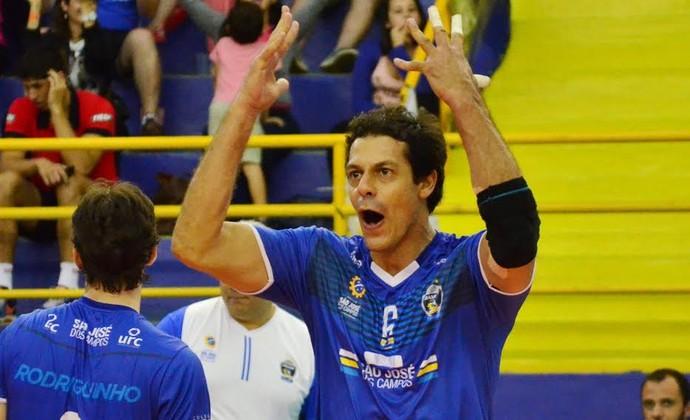 Lorena São José Sesi Vôlei jogo 1 semifinal Paulista (Foto: Tião Martins/PMSJC)