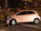Idoso morre baleado em tiroteio entre policial e suspeitos de roubo, em GO