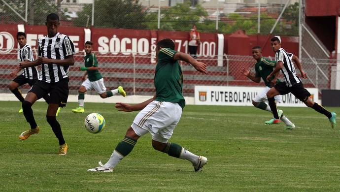Palmeiras x Santos sub-17 (Foto: Cesar Greco/Ag Palmeiras/Divulgação)
