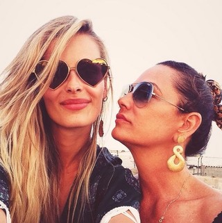 Yasmin e Luiza Brunet (Foto: Instagram/Reprodução)
