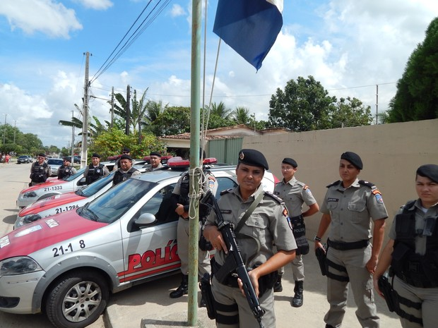 Comandante diz que desde que entrou na corporação, sempre atuou nas ruas (Foto: Karina Dantas/G1)