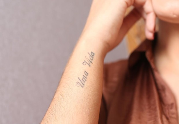 Tatuagem de Andressa Urach (Foto: Iwi Onodera/EGO)