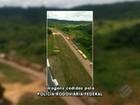 Manifestantes bloqueiam a rodovia BR-163, no sudoeste do Pará