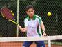 Jovem promessa do tênis estadual é vice-campeão brasileiro em Curitiba