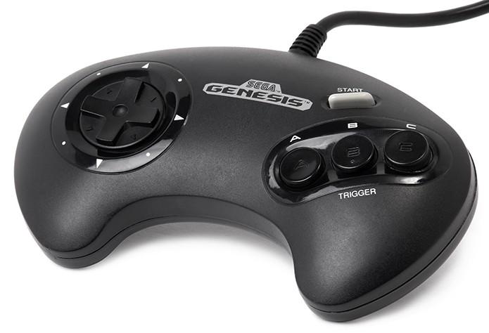 Controle do Mega Drive era excelente para jogos de luta e ação (Foto: Reprodução)