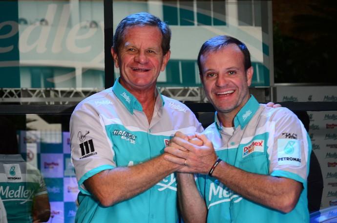 Ingo Hoffman Rubens Barrichello Stock Car (Foto: Miguel Costa Jr/Medley)