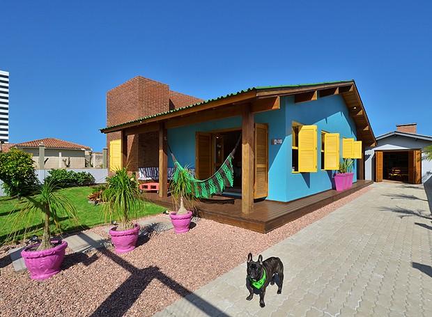 casa praia colorida 1 (Foto: Vanessa Bohn / Bohn Fotografias)