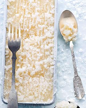 Granita de limão-siciliano (Foto: Iara Venanzi/Casa e Comida)