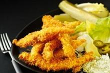 Nigella: gurjons de frango com maionese de endro