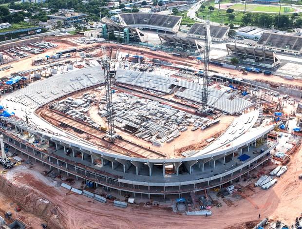 Arena Amazônia, Dezembro (Foto: Gideão Soares / ME)