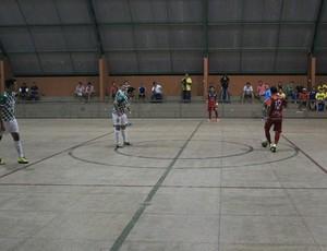 Cajuína x Treze de Maio/Lyon - Piauiense de Futsal 2014 (Foto: Wenner Tito)