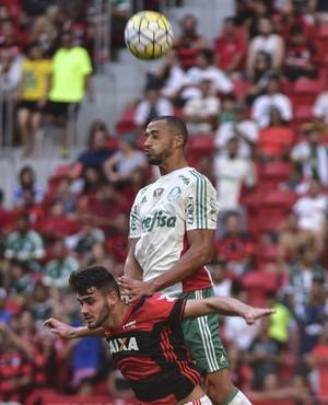 Flamengo x Palmeiras - Vitor Hugo (Foto: Ricardo Botelho / Brazil Photo Press / Estadão Conteúdo)