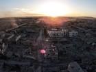 Com drone, brasileiro clica destruição em área libertada do Estado Islâmico
