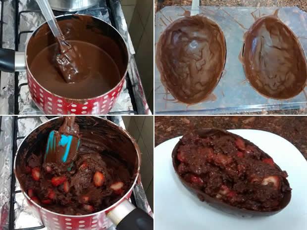 Outras frutas também podem ser usadas na receita (Foto: Cristiane Mendes/G1)