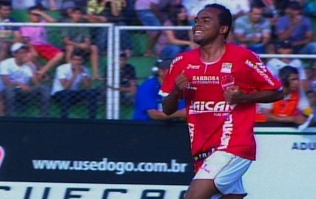 Marion comemora gol do Vila Nova (Foto: Reprodução / PFC)