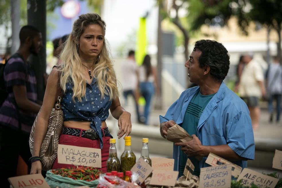 Vai sobrar pra Malagueta, hein?! ;) (Foto: Raphael Dias/Gshow)