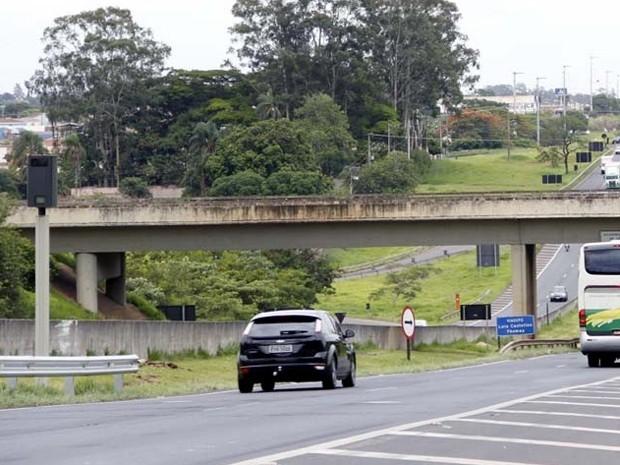 Trecho da rodovia que liga São Carlos a Araraquara recebeu boa avaliação (Foto: Fabio Rodrigues/G1)