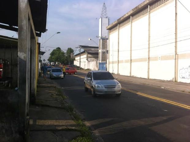 Crime ocorreu na manhã desta quinta (Foto: Camila Henriques/G1 AM)