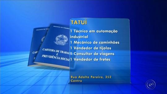 PATs da região de Itapetininga divulgam vagas de emprego