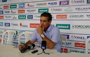 Paulo Roberto vibra com 1ª vitória e pede calma ao ataque do São Bento