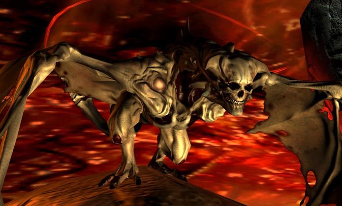 Em Resurrection of Evil finalmente enfrentamos o Dr. Betruger, agora como Maledict (Foto: theisozone.com)