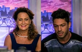 Ieda e Luiz Felipe (Foto: Globo/ Paulo Belote)