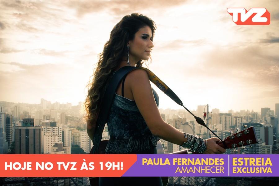Paula Fernandes TVZ (Foto: divulgao)
