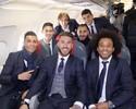 """Partiu! Real Madrid viaja """"na beca"""" para jogo da Champions em Roma"""