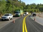 Concessionária faz alterações no trânsito da BR-277 em Matelândia