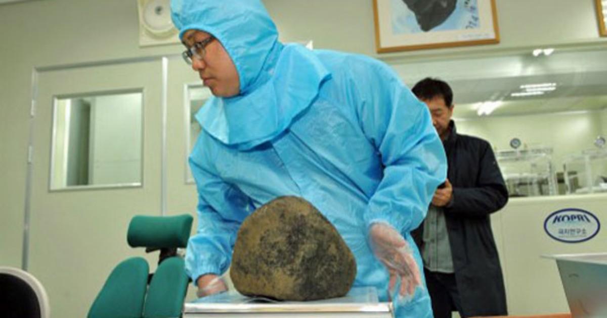 Meteoritos caídos na Coreia do Sul são tão antigos quanto Sistema Solar