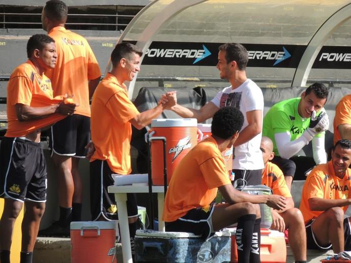 Despedida Morais Criciúma (Foto: João Lucas Cardoso)