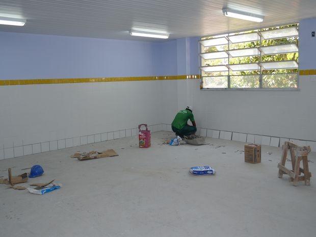 Escola do Mosqueiro vai funcionar da creche até o 5º ano do Ensino Fundamental (Foto: Marina Fontenele/G1 SE)