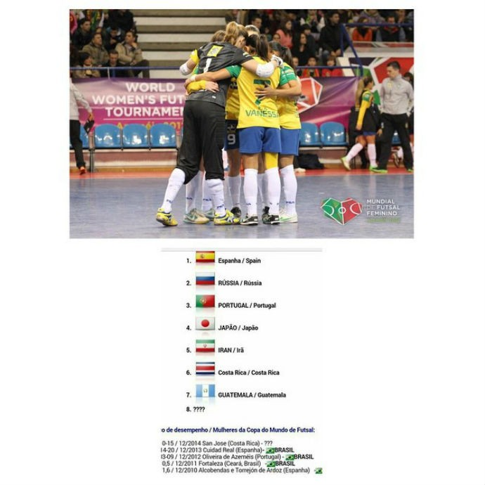 Vanessa seleção brasileira futsal feminino (Foto: Reprodução Instagram)