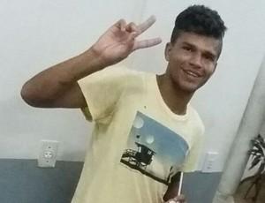Thiago Potiguar zagueiro do Palmeira-RN  (Foto: Arquivo pessoal)