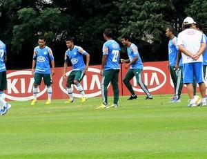 Gilson Kleina treino Palmeiras (Foto: Rodrigo Faber)
