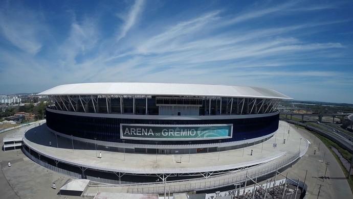 Arena Grêmio (Photo: Drone Service Brazil / DVG)