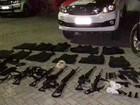 PM prende 15 por roubo a banco (Divulgação/ Polícia Militar)